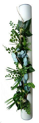 Nouveau produit, nouvelle collection 2013 => Cadre végétal stabilisé, tableau floral cylindrique 2