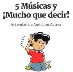 Actividad audición creativa.