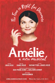 Official Broadway window card poster from the new musical Amelie. Measures 14 x 22 inches. Printed on glossy cardstock and shipped flat in extra protective packaging to prevent damage to the poster during transit.Would you like your poster framed?...