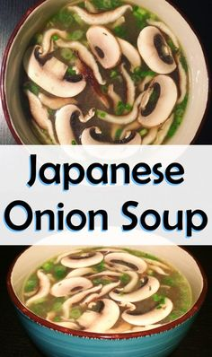 Japanese onion soup easy recipe food in 2019 Onion Soup Recipes, Easy Soup Recipes, Vegetarian Recipes, Healthy Recipes, Keto Recipes, Healthy Soup, Easy Recipes For Two, Healthy Japanese Recipes, Chinese Soup Recipes