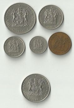 Collections & Lots - Collection of 1977 South African Coins + 1989 for sale in Johannesburg