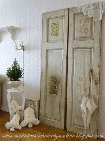 Salvaged Doors - My little white home by Nadine: Kerst Christmas Noël 2014