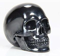 Hematite Crystal Skull