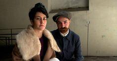Veronica Cornacchini and Matteo Gioli, the founders of SuperDuper Hats.
