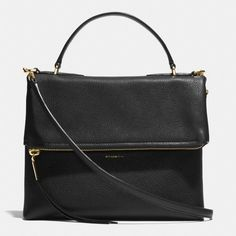 The The Urbane Shoulder Bag 2 In Pebbled Leather from Coach