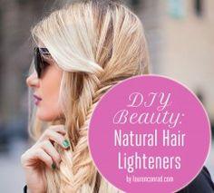 Beauty DIY: Natural Hair Highlighters