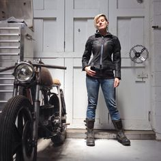 Meet the Icon 1000 Fairlady jacket- an instant classic. High grade leather, D30 armor, and a great feminine cut.