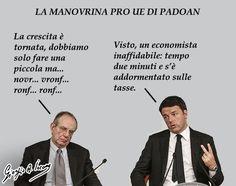 Padoan si è addormentato sulle tasse pro Ue