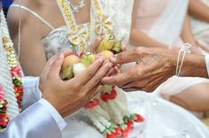 10 Tips For Hosting An Interfaith Wedding:  Let both families play a part