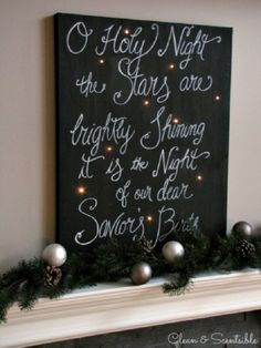 Top 10 Jolly DIY Christmas Canvas Ideas