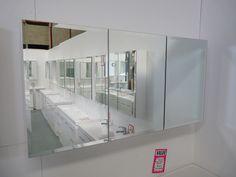 bathroom mirror door shaving cabinet with beveled edges ridler bathrooms dandenong