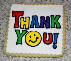 thank you cookies | Baking - Cookies Thank You