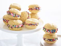 Birthday Whoopie Pies recipe from Food Network Kitchen via Food Network