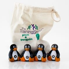 'Pick a Penguin' - a great tool for getting students into teams or sorting out turn-taking in activities.