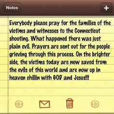 #satan I rebuke you in the name of #JesusChrist!!! You will no longer attack the innocent little #children of this world. They belong to #GOD not you!!! You and your #demons will NOT manifest or retaliate against this #prayer or any past #prayers or future prayers. GOD I just ask that you fill this #world including the #families and loved ones of the #shooting and any one else who has ever experienced a tragedy in their #life with the #HolySpirit!!! Consume everyones #mind, #body, #soul…