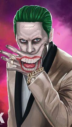Joker Suicide Squad Artwork HD, Movies Wallpapers Photos and Pictures ID Wallpaper Animé, Joker Iphone Wallpaper, Joker Wallpapers, Iphone Wallpapers, Wallpaper Keren, The Joker, Joker Art, Joker And Harley Quinn, Joker Images