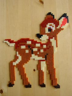 Bambi hama beads by Hester