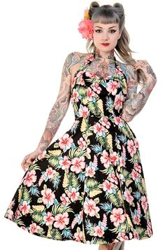 Banned Hawaii Dress, £28.99    http://www.attitudeclothing.co.uk/product_32073-68-2279_Banned-Hawaii-Dress.htm