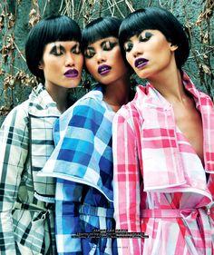 checks and cadences by Onin Lorente For Metro Magazine November 2013