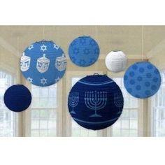 Hanukkah Hanging Lantern Decorations