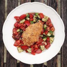 Amarántbundás csirkemell - gluténmentes rántott hús recept