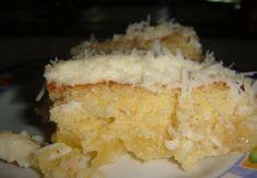 Prepare um bolo gelado de abacaxi! Confira nossas receitas: Cake Day, Icebox Cake, Pasta, Chocolate, Vanilla Cake, Sweet Recipes, Oreo, Mashed Potatoes, Rice