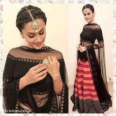 Tapasee#priyal prakash#bollywood closet# Indian wear #