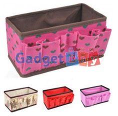 Popular Beauty Multifunction Folding Makeup Cosmetics Storage Organizer Box  Buy it on www.gadget-bay.com Free Shipping Europe wide