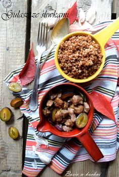 Basia w kuchni: Gulasz wieprzowy ze śliwkami