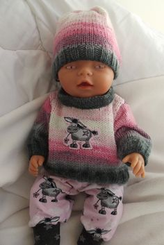 Baby Born, Knitted Dolls, Doll Clothes, Winter Hats, Knitting, Fashion, Caps Hats, Tejidos, Baby Doll Clothes