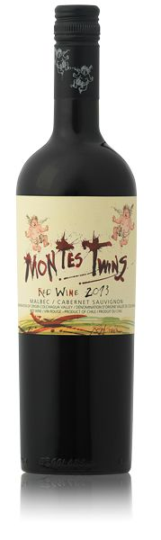 Montes Twins Malbec/Cabernet Sauvignon from Chile. A red wine with smooth, velvety texture from the Malbec and wonderful richness, structure and fruit from the Cabernet.