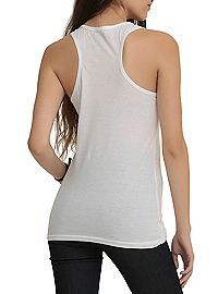 HOTTOPIC.COM - Never Alone With Books Girls Tank Top