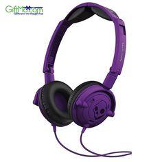 Amazing Sound Quality Skullcandy Lowrider Headphones in Athletic Purple