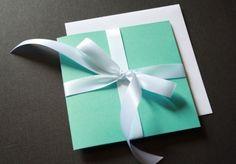Tiffany Wedding Invites