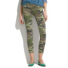 Textile Elizabeth and James Camouflage Skinny Jeans