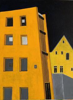 myrta biberstein Painting Abstract