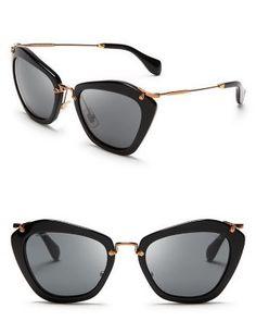 Catwalk sunglasses by Miu Miu