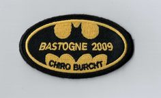Is your camp theme 'bats' or 'batman'? This is so cool! Just sew or iron the patch on your uniform. It's a nice memory! Order now your FREE samples on ibadge.com!