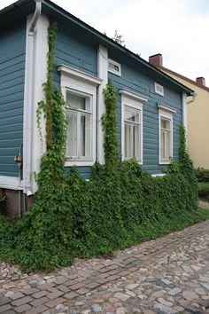 Borgå, en liten vacker, gammal stad i södra Finland.