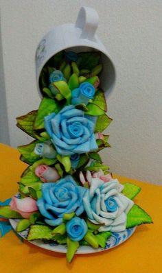 Cascata de rosas
