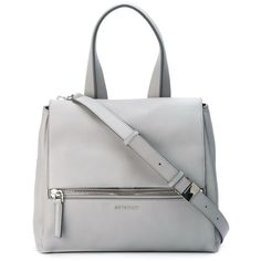 Givenchy Small Pandora Pure Bag (172.035 RUB) ❤ liked on Polyvore featuring bags, handbags, shoulder bags, purses, kirna zabete, white satchel, handbags & purses, white handbags, white satchel handbags and white shoulder bag