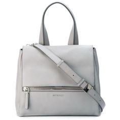Givenchy Small Pandora Pure Bag (172.035 RUB) ❤ liked on Polyvore featuring bags, handbags, shoulder bags, purses, kirna zabete, white satchel, handbags & purses, white handbags, white satchel handbags and white shoulder bag