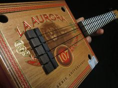 Cigar Box Ukulele  135 Soprano Scale  Solid by EllbogenGuitars, $125.00