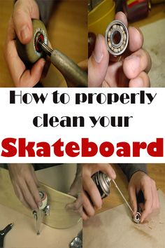 See how to properly clean your skateboard to avoid rusting your bearings!
