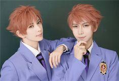 Kaoru & Hikaru - Hitachiin - Ouran cosplay - Mr Willie & KumaQi (1/4)