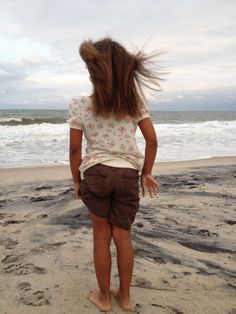 Love the beach on a cloudy day... So much fun