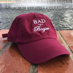 BAD & Boujee Dad Hat by CamsPopUp on Etsy