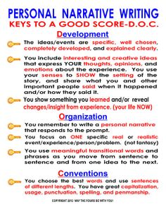 personal_narrative_writing_keys by The Writing Doctor, via Flickr