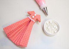 DIY Sugar Wafer Dress Cookies
