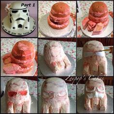 Storm Trooper Helmet - CakesDecor
